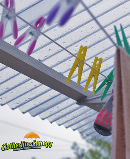 Clothesline Canopy & Clothsline Canopy Ireland Covered Clothsline Drying Solution