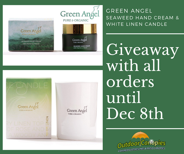 Giveaway with all orders until Dec 8th 1
